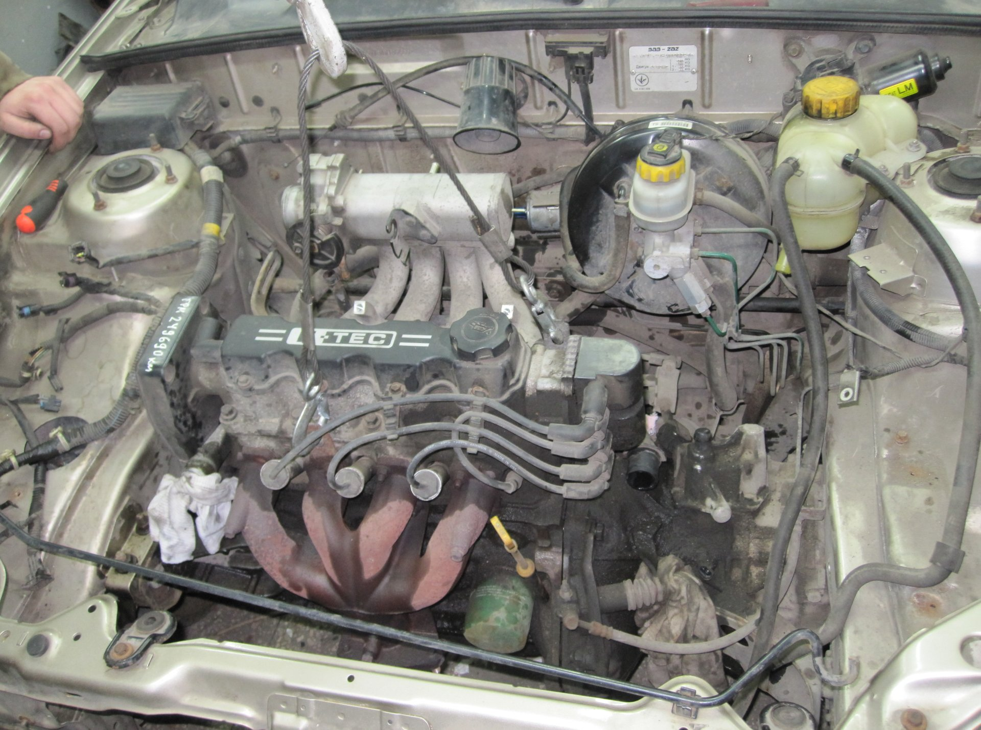 Подымаем двигатель