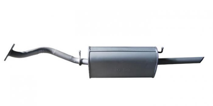 Глушитель шевроле ланос