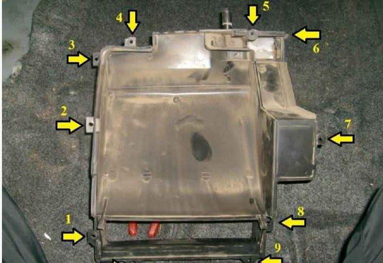 Шевроле ланос замена радиатора печки своими руками