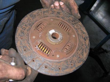 Старый диск сцепления